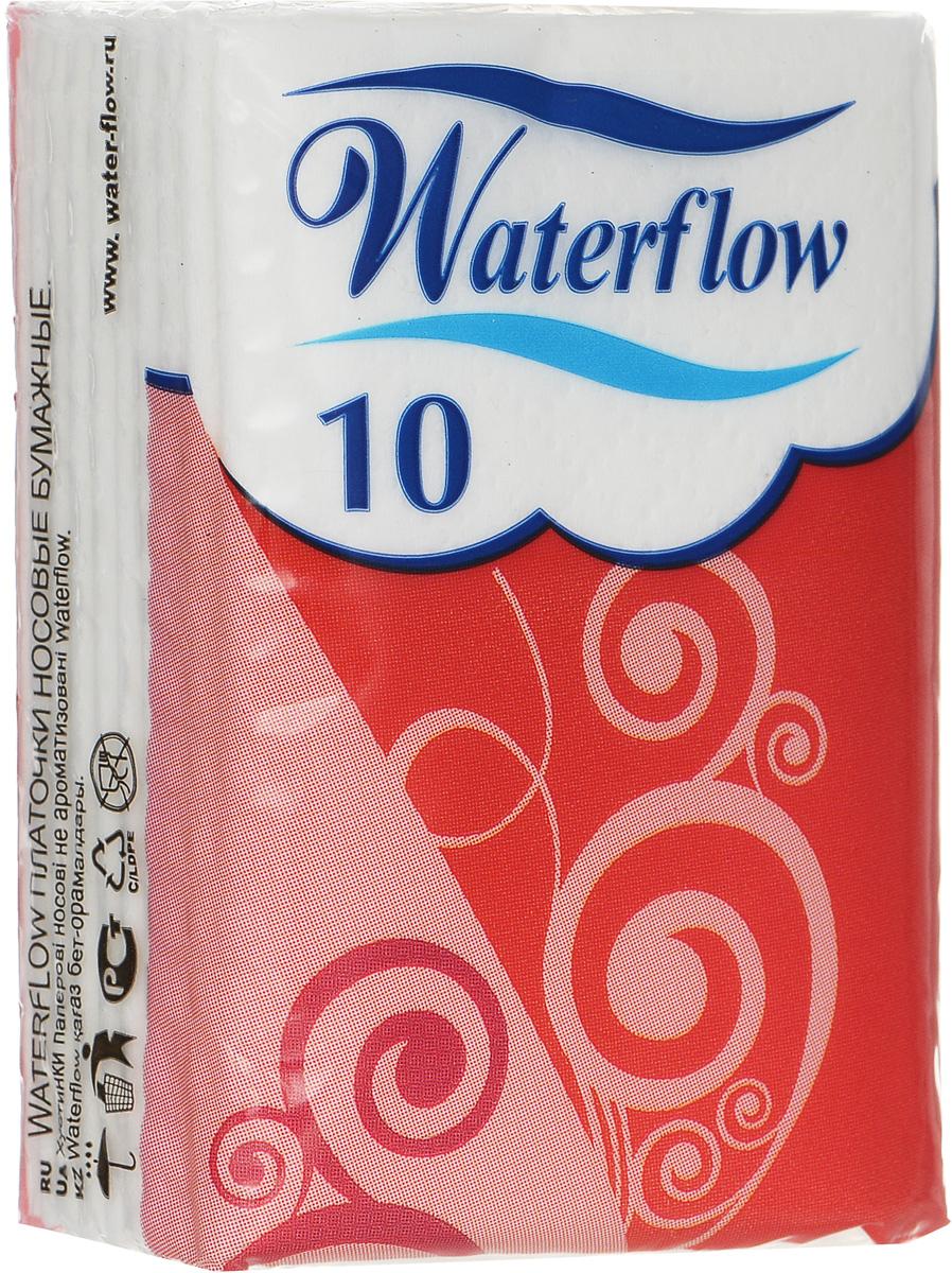 Waterflow Бумажные носовые платочки Compact, цвет: красный, 10 шт16554_цвет упаковки красныйБумажные носовые платочки Waterflow Compact не займут много места в сумочке и всегда будут под рукой. когда это необходимо. Особенности: - 3-слойная структура обеспечивает мягкость и высокую гигроскопичность - Производятся только из натурального сырья - 100% целлюлозы - Декоративное тиснение по периметру обеспечивает плотное соединение слоев. Товар сертифицирован.