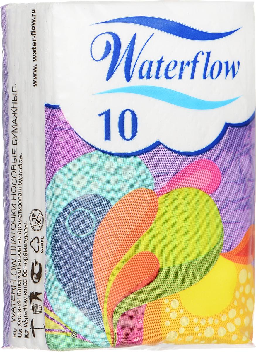 Waterflow Бумажные носовые платочки Compact, цвет: сиреневый, 10 шт16554_цвет упаковки сиреневыйБумажные носовые платочки Waterflow Compact не займут много места в сумочке и всегда будут под рукой. когда это необходимо. Особенности: - 3-слойная структура обеспечивает мягкость и высокую гигроскопичность - Производятся только из натурального сырья - 100% целлюлозы - Декоративное тиснение по периметру обеспечивает плотное соединение слоев. Товар сертифицирован.