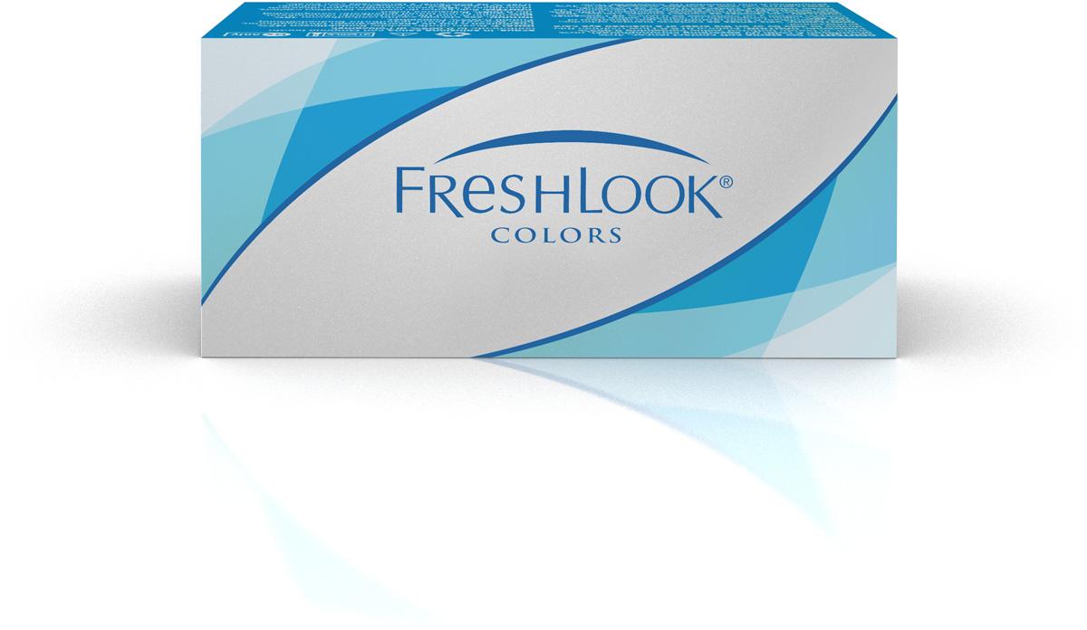 Аlcon контактные линзы FreshLook Colors 2шт -0.75 Blue31746859Мягкие контактные линзы