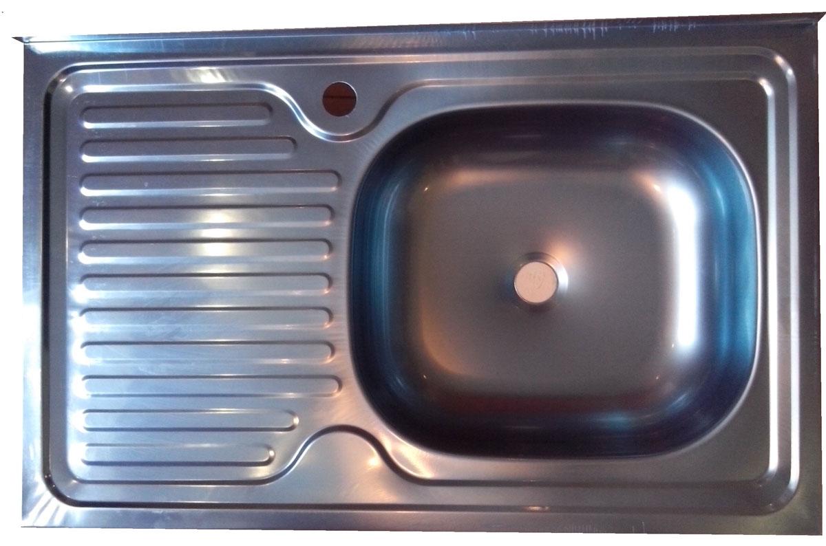 Накладная мойка Betanox 80 х 60 см, левое крыло80502Накладная мойка Betanox 80х60 см, левое крыло. Сифон и крепеж поставляются отдельно. Упаковка – защитная пленка синего цвета. Размер 80 см х 60см х 13,5см. Металл: нержавеющая сталь. Толщина стали: 0,6 мм. левое крыло