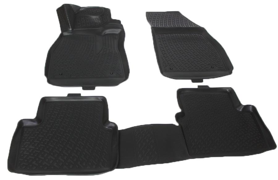 Коврики в салон автомобиля L.Locker, для Chevrolet Malibu sd (11-), 4 шт0207120101Коврики L.Locker производятся индивидуально для каждой модели автомобиля из современного и экологически чистого материала. Изделия точно повторяют геометрию пола автомобиля, имеют высокий борт, обладают повышенной износоустойчивостью, антискользящими свойствами, лишены резкого запаха и сохраняют свои потребительские свойства в широком диапазоне температур (от -50°С до +80°С). Рисунок ковриков специально спроектирован для уменьшения скольжения ног водителя и имеет достаточную глубину, препятствующую свободному перемещению жидкости и грязи на поверхности. Одновременно с этим рисунок не создает дискомфорта при вождении автомобиля. Водительский ковер с предустановленными креплениями фиксируется на штатные места в полу салона автомобиля. Новая технология системы креплений герметична, не дает влаге и грязи проникать внутрь через крепеж на обшивку пола.