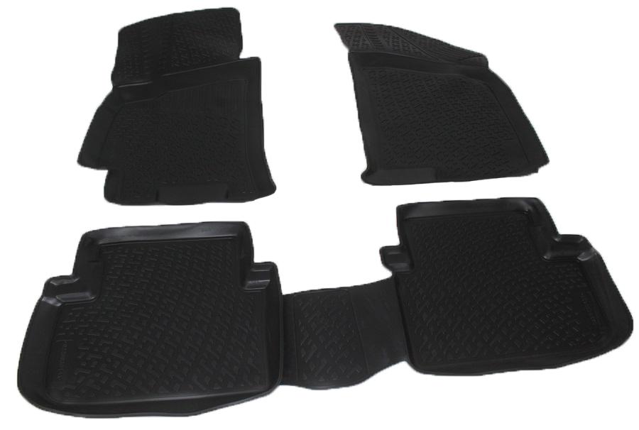 Коврики в салон автомобиля L.Locker, для ZAZ Chance (09-)0226030101Коврики L.Locker производятся индивидуально для каждой модели автомобиля из современного и экологически чистого материала. Изделия точно повторяют геометрию пола автомобиля, имеют высокий борт, обладают повышенной износоустойчивостью, антискользящими свойствами, лишены резкого запаха и сохраняют свои потребительские свойства в широком диапазоне температур (от -50°С до +80°С). Рисунок ковриков специально спроектирован для уменьшения скольжения ног водителя и имеет достаточную глубину, препятствующую свободному перемещению жидкости и грязи на поверхности. Одновременно с этим рисунок не создает дискомфорта при вождении автомобиля. Водительский ковер с предустановленными креплениями фиксируется на штатные места в полу салона автомобиля. Новая технология системы креплений герметична, не дает влаге и грязи проникать внутрь через крепеж на обшивку пола.