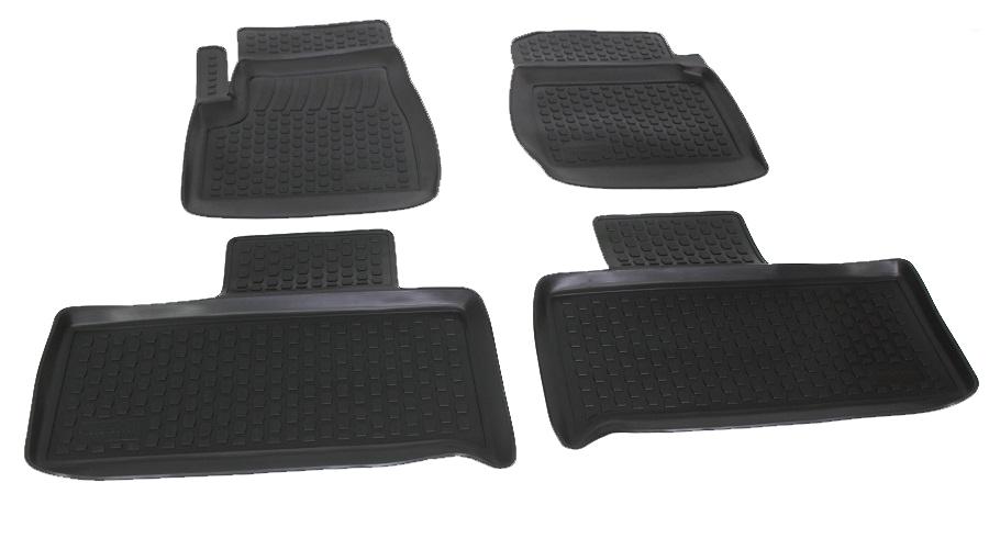 Коврики в салон автомобиля L.Locker, для УАЗ Патриот, 4 шт0282020101Коврики L.Locker производятся индивидуально для каждой модели автомобиля из современного и экологически чистого материала. Изделия точно повторяют геометрию пола автомобиля, имеют высокий борт, обладают повышенной износоустойчивостью, антискользящими свойствами, лишены резкого запаха и сохраняют свои потребительские свойства в широком диапазоне температур (от -50°С до +80°С). Рисунок ковриков специально спроектирован для уменьшения скольжения ног водителя и имеет достаточную глубину, препятствующую свободному перемещению жидкости и грязи на поверхности. Одновременно с этим рисунок не создает дискомфорта при вождении автомобиля. Водительский ковер с предустановленными креплениями фиксируется на штатные места в полу салона автомобиля. Новая технология системы креплений герметична, не дает влаге и грязи проникать внутрь через крепеж на обшивку пола.