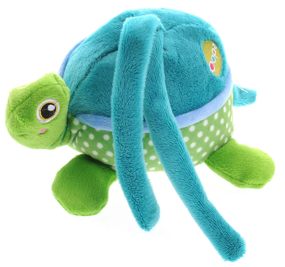 Oops Развивающая музыкальная игрушка-подвеска ЧерепахаO 12002.23Развивающая музыкальная игрушка-подвеска Oops Черепаха не оставит равнодушным ни одного малыша. Выполненная из качественных, приятных на ощупь материалов, игрушка доставит радость ребенку при игре с ней. Игрушка содержит внутри музыкальный механизм, который запускается при потягивании за пластиковое кольцо. При этом звучит красивая музыка. Забавная игрушка станет для малыша отличным компаньоном в играх и обязательно поднимет настроение.