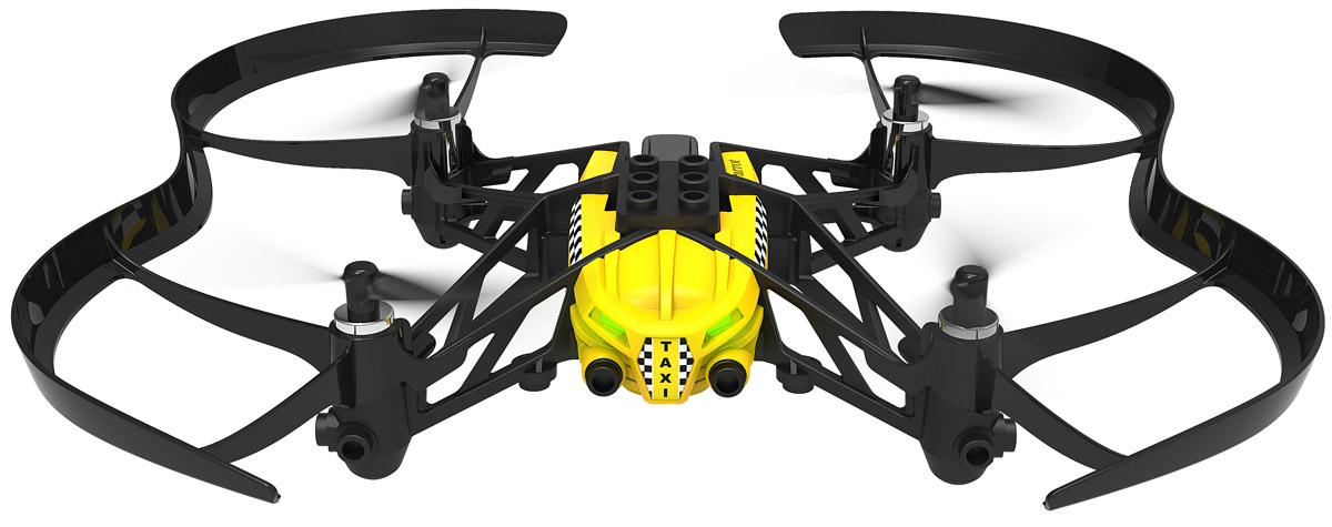 Parrot Квадрокоптер на радиоуправлении Minidrone Airborne Cargo TravisPF723304Parrot Minidrone Airborne Cargo Travis - летающее радиоуправляемое устройство с четырьмя бесколлекторными двигателями и встроенной камерой. Невероятная акробатика Одно движение руки - и ваш квадрокоптер послушно выполняет повороты на 90 и 180 градусов, крутит мёртвые петли назад и вперёд. Он сконструирован с соблюдением правил безопасности: в случае аварии питание пропеллеров отключится. Создайте своего летающего робота Вы можете изменить внешний вид мини-дрона Airborne Cargo по своему вкусу с помощью наклеек, а также добавив груз или фигурки пассажиров. Специальные отделения для небольших предметов позволят подойти к игре творчески. Благодаря проработанной системе стабилизации и автопилоту квадрокоптером Airborne Cargo можно легко управлять через сенсорный интерфейс в приложении FreeFlight 3. Встроенная память: 1 ГБ (для записи видео) Разрешение видео: 640х480 Емкость аккумулятора: 550 мАч