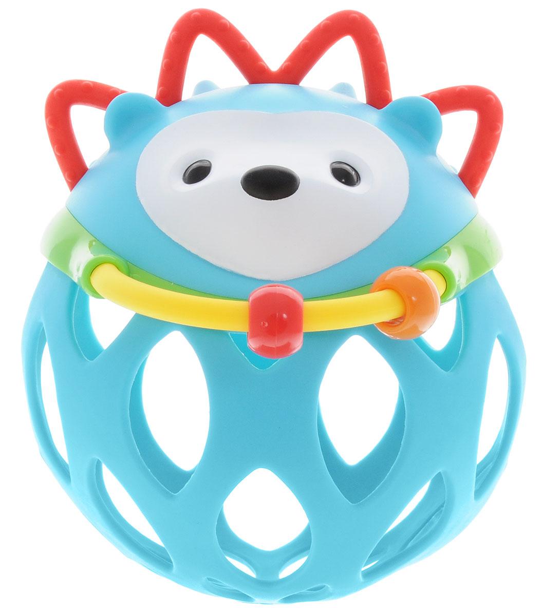 Skip Hop Развивающая игрушка-погремушка Шар-ежикSH 303101Развивающая игрушка-погремушка Skip Hop Шар-ежик обязательно понравится вашему малышу! Голова ежика содержит погремушку и прорезыватель. Перед мордочкой ежа расположено пластиковое полукольцо, по которому свободно перемещаются две пластиковые бусинки. Тело ежика выполнено в виде мягкого шара со специальными отверстиями. Такую игрушку можно катать, трясти, подбрасывать, мять в ручках. Игрушка поможет развить ловкость и моторику ручек, цветовое и слуховое восприятие, тактильную чувствительность. Игрушка не содержит бисфенол А, поливинилхлорид и фталаты.