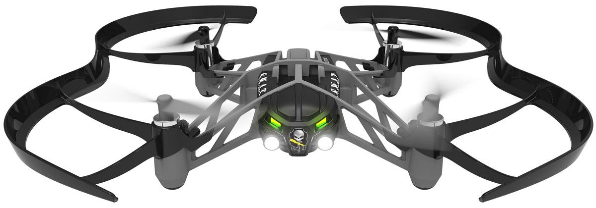 Parrot Квадрокоптер на радиоуправлении Minidrone Airborne Night Swat