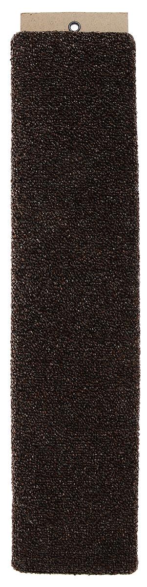 Когтеточка Меридиан, настенная, цвет: темно-коричневый, 60 х 12,5 х 3 смК013_коричневыйНастенная когтеточка Меридиан предназначена для стачивания когтей вашей кошки и предотвращения их врастания. Волокна ковролина обеспечивают естественный уход за когтями питомца. Когтеточка позволяет сохранить неповрежденными мебель и другие предметы интерьера. Длина когтеточки: 60 см. Длина рабочей части: 57 см.