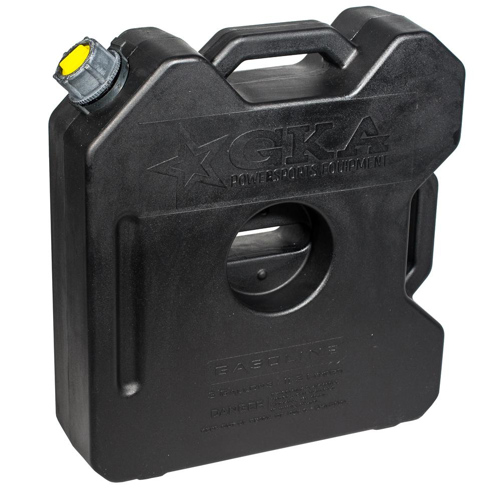 Канистра экспедиционная GKA, цвет: черный, 12 лGKA12BКанистра экспедиционная плоская 12 литров GKA. Изготавливаются из высокопрочных полимеров. Предназначена для любого вида топлива и воды. Укомплектованы гибким носиком для розлива жидкостей. Уплотнитель и антивибрационная система крышки не позволяет жидкости расплескиваться.