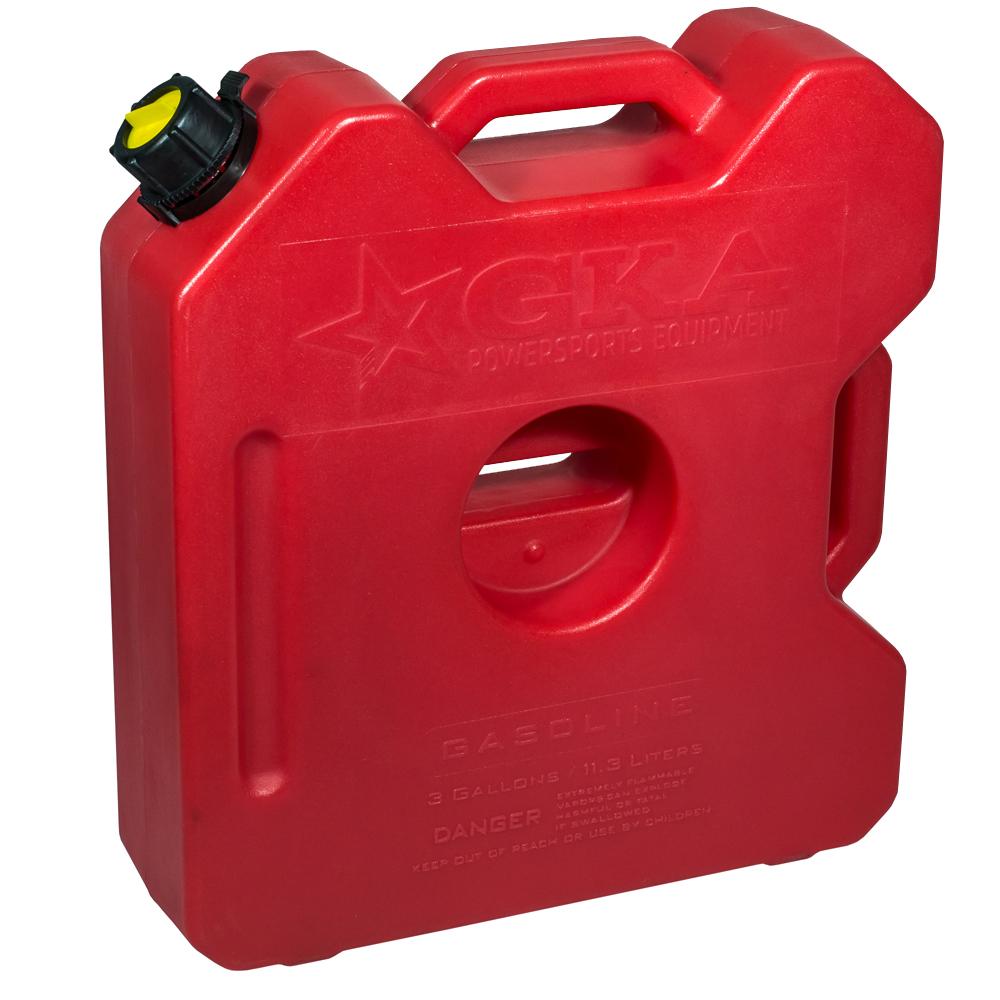 Канистра экспедиционная GKA, цвет: красный, 12 лGKA12RКанистра экспедиционная плоская 12 литров GKA. Изготавливаются из высокопрочных полимеров. Предназначена для любого вида топлива и воды. Укомплектованы гибким носиком для розлива жидкостей. Уплотнитель и антивибрационная система крышки не позволяет жидкости расплескиваться.