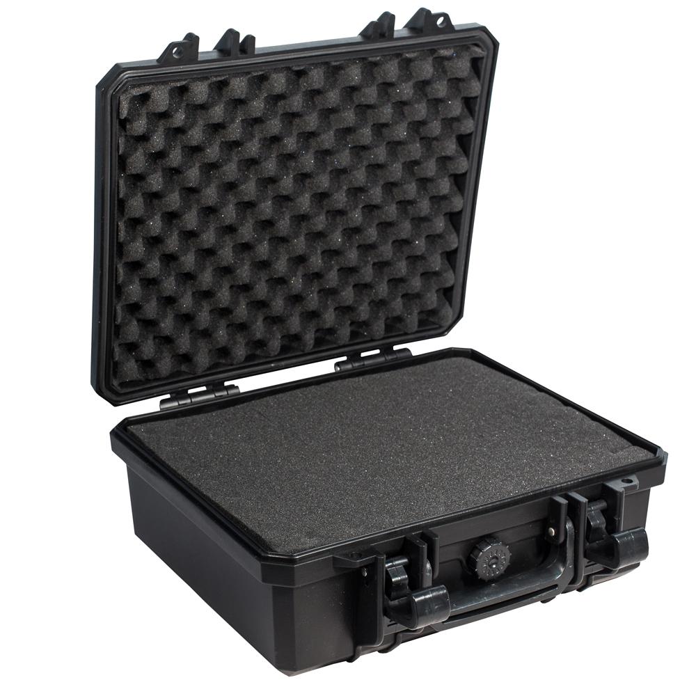 Кейс противоударный PRO-4x4 №2, влагозащищенный, 33 х 31 х 14,8 см, цвет: черныйPRO-BXF-B03331Кейс №2 с поропластом очень удобен для перевозки зеркальных фотоаппаратов, дорогих объективов, полупрофессиональных видеокамер. С помощью просеченной пены. Вы сделаете для себя необходимые отсеки.Защищенные кейсы - это надежный и проверенный способ сохранить в целостности дорогостоящее оборудование, требующее бережной транспортировки и гарантированной сохранности.