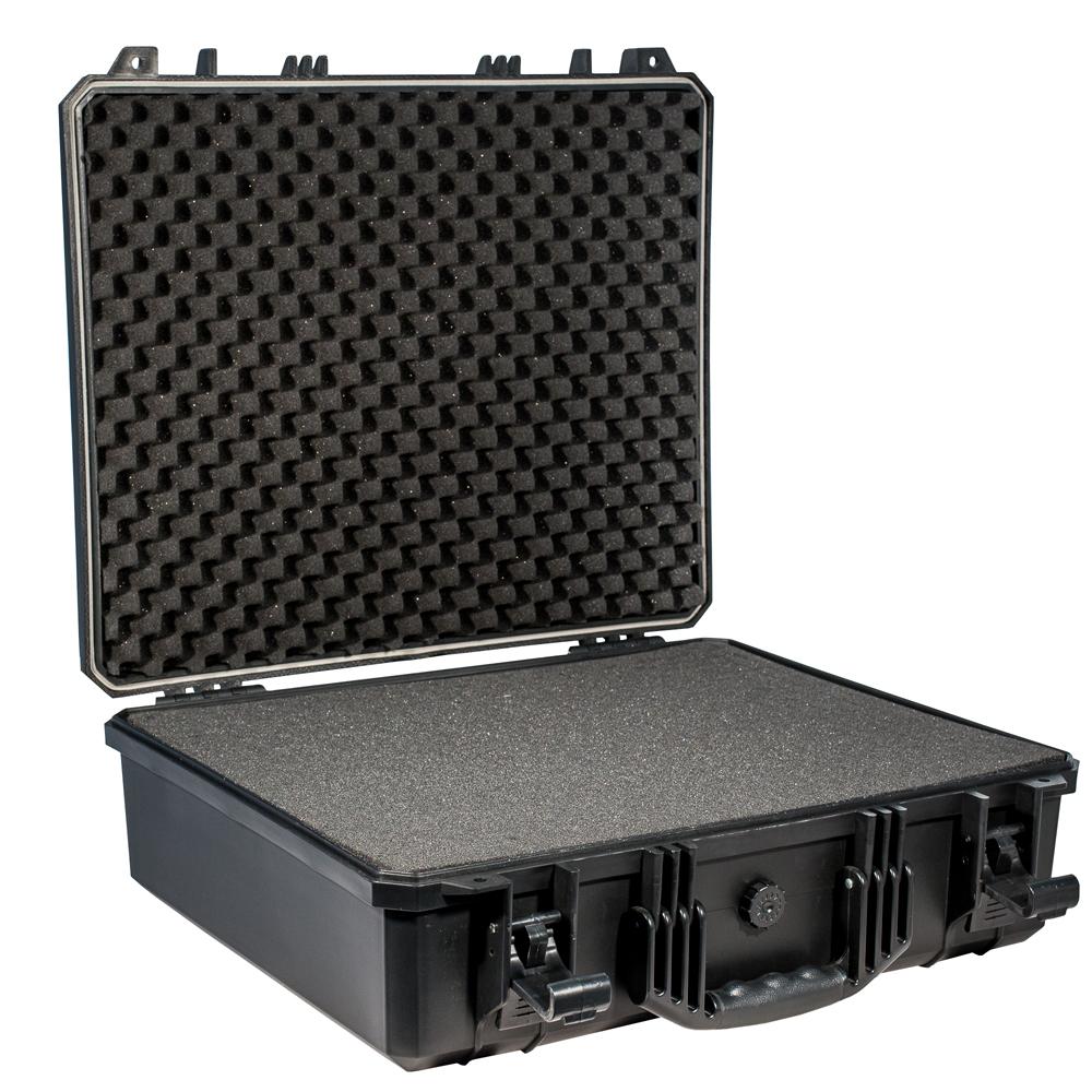 Кейс противоударный PRO-4x4 №6, влагозащищенный, 53,8 х 43,2 х 16,5 см, цвет: черный