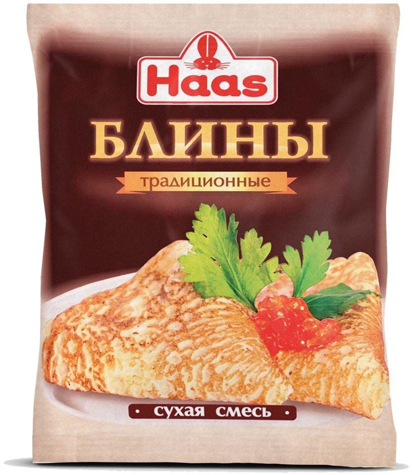 Haas смесь для блинов, 250 г