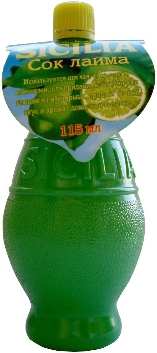 Sicilia сок лайма, 115 мл