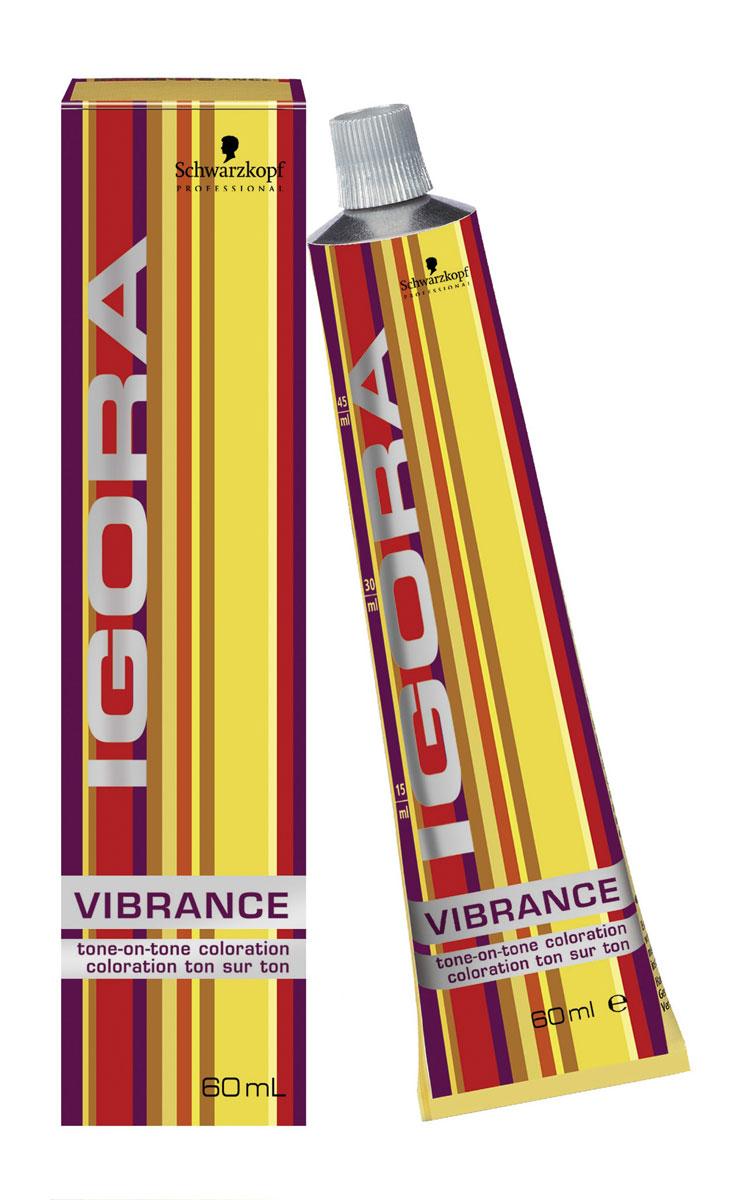 Igora Vibrance Перманентный краситель для волос 6-66 темный русый шоколадный экстра 60 мл707028Крем-краситель без аммиака для окрашивания тон-в-тон. Цвет: темный русый шоколадный экстра.