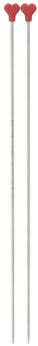 Спицы Addi, из алюминия с никелевым покрытием, прямые, диаметр 3 мм, длина 35 см, 2 шт100-7/3-35Прямые спицы для вязания Addi, изготовленные из алюминия с никелевым покрытием, прочные, легкие, гладкие и удобные в использовании. Пряжа по таким спицам скользит очень хорошо, а руки совершенно не устают при вязании. Обычно такими спицами вяжут детали, имеющие с двух сторон закрытые кромки. Они служат для вязания плоских деталей, которые затем будут сшиты в цельное изделие. Ограничители, выполненные из цветного пластика, препятствуют соскальзыванию петель. Вязание осуществляется в прямом и обратном направлении. Вы сможете вязать для себя и делать подарки друзьям. Рукоделие всегда считалось изысканным, благородным делом. Работа, сделанная своими руками, долго будет радовать вас и ваших близких.