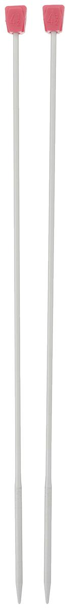Спицы Addi, алюминевые, прямые c утолщением, диаметр 4,5 мм, длина 35 см, 2 шт210-7/4.5-35Прямые спицы Addi, выполненные из качественного алюминия, незаменимы при вязании отдельных деталей. Наконечники спиц утолщенные, а ручка по диаметру более тонкая, что позволяет ускорить процесс вязания. Петли не спадают, так как этот переход им мешает это сделать. Такие спицы по праву можно назвать быстрыми. Гладкая поверхность спиц позволяет петлям легко скользить в прямом и обратном направлении. Спицы очень легкие и руки во время работы меньше устают. Заостренные концы не расщепляют петли, находящиеся на спице и легко захватывают нить, идущую от клубка. Благодаря этому полотно получается ровным и красивым. Вы сможете вязать для себя и делать подарки друзьям. Рукоделие всегда считалось изысканным, благородным делом. Работа, сделанная своими руками, долго будет радовать вас и ваших близких.