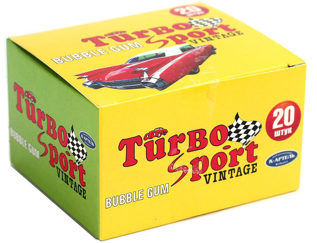 Вкусная помощь Turbo-Sport жевательная резинка, 20 шт4640000276799Современная жвачка Turbo-Sport все такая же классная и ароматная, как и в 90-х годах. За прошедшие года жевательная резинка Турбо не утратила своей популярности, и сейчас она остается столь же привлекательной и желанной вкусняшкой для людей всех поколений. Даже если вы еще не успели родиться в 90-е, это еще не значит, что Turbo не для вас! В упаковке 20 жвательных резинок по 4 г. А еще каждая подушечка жвачки Turbo-Sport с бонусом – с наклейкой, на которой машинка, настоящая и красивая! У кого была коллекция? Уважаемые клиенты! Обращаем ваше внимание, что полный перечень состава продукта представлен на дополнительном изображении.