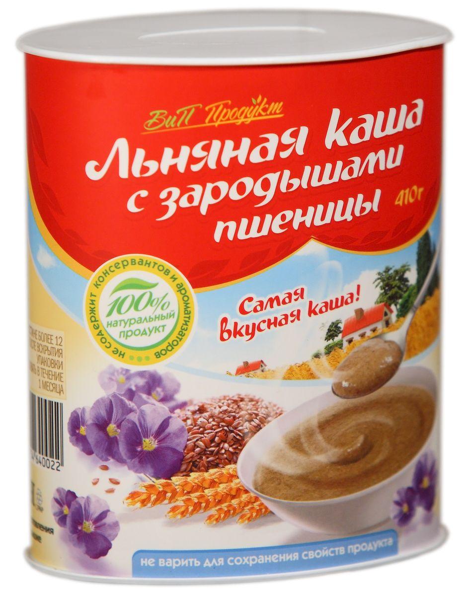 Вип Продукт Льняная каша с зародышами пшеницы, 410 г