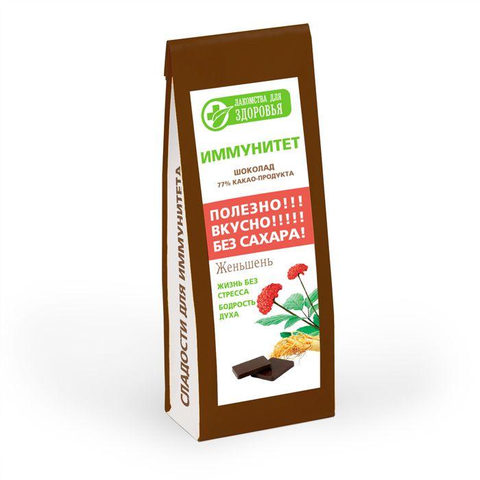 Лакомства для здоровья Шоколад горький с женьшенем, 100 гШЗг13.100Лакомства для здоровья - полезная альтернатива обычным сладостям! Произведены по специальной технологии, позволяющей сохранить все полезные свойства используемых ингредиентов. Шоколад изготовлен исключительно из натуральных ингредиентов, богатых витаминами и растительной клетчаткой. Без добавления сахара. Женьшень показан взрослым в качестве стимулирующего средства при умственном и физическом напряжении, артериальной гипотензии, неврозах, неврастении, нейроциркуляторной дистонии (НЦД) по гипотоническому типу, астении различной этиологии, реконвалесценции после перенесенных заболеваний. Уважаемые клиенты! Обращаем ваше внимание, что полный перечень состава продукта представлен на дополнительном изображении.