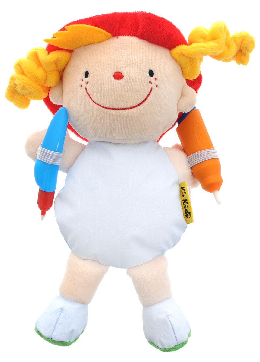 Ks Kids Развивающая игрушка Джулия Что носитьKA691_зеленые ботинкиKs Kids Развивающая игрушка Джулия. Что носить позволит создать собственные наряды для куклы Джулии, используя воду. При рисовании карандашами, наполненными водой, на теле куклы появляются рисунки, через какое-то время они исчезают и можно рисовать снова. Игрушка способствует развитию моторики и творческих навыков.