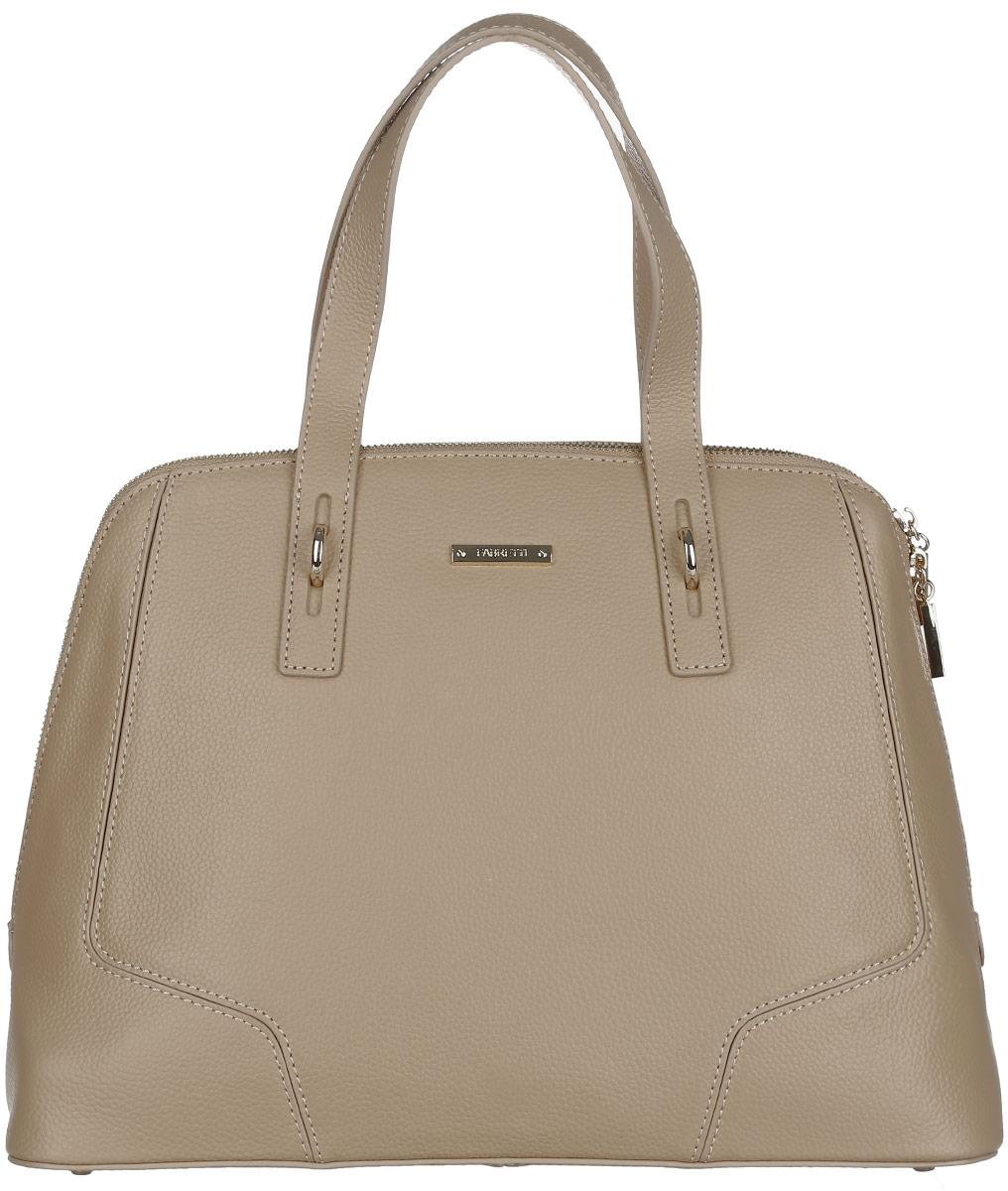 Сумка женская Fabretti, цвет: бежевый. N2546N2546-beigeСтильная женская сумка Fabretti выполнена из натуральной кожи с фактурным тиснением. Изделие содержит одно большое отделение, которое закрывается на застежку-молнию с двумя бегунками. Внутри расположены два накладных кармашка для мелочей и два врезных кармана на молнии. Снаружи, на задней стороне сумки, расположен врезной карман на застежке-молнии. Сумка оснащена удобными ручками и плечевым ремнем, который можно регулировать по длине. Дно сумки дополнено металлическими ножками. Оригинальный аксессуар позволит вам завершить образ и быть неотразимой.