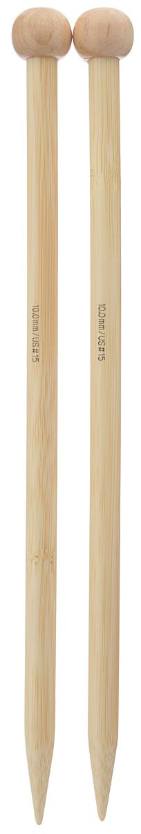 Спицы Addi, бамбуковые, прямые, диаметр 10 мм, длина 25 см, 2 шт500-7/10-25Спицы для вязания Addi изготовлены из бамбука. Поверхность спицы обрабатывается специальным, высокотехнологичным японским воском, который закрывает поры бамбука и делает поверхность абсолютно гладкой. Спицы прочные, легкие, гладкие, удобные в использовании. Ограничители препятствуют соскальзыванию петель. Прямые спицы используются при плоском вязании отдельных деталей, которые впоследствии будут сшиты в цельное изделие. Спицы Addi идеальны для людей с аллергией на металл и их едва слышно при вязании. Вы сможете вязать для себя и делать подарки друзьям. Рукоделие всегда считалось изысканным, благородным делом. Работа, сделанная своими руками, долго будет радовать вас и ваших близких.