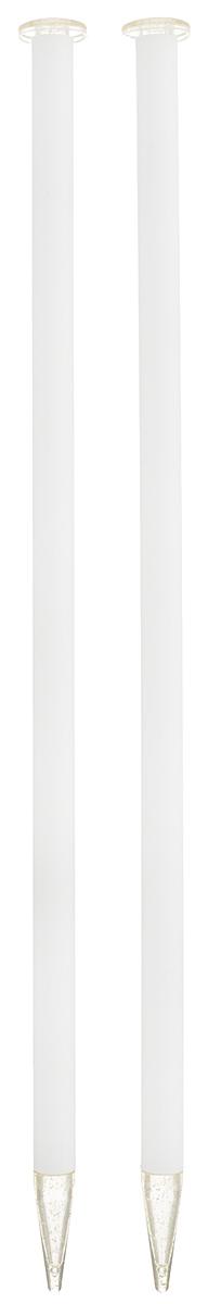 Спицы Addi, пластиковые, прямые, цвет: белый, диаметр 12 мм, длина 35 см, 2 шт400-7/12-35Спицы для вязания Addi, изготовленные из высококачественного пластика, обладают прекрасными тактильными качествами. Они прочные, легкие и удобные в использовании. На кончиках в качестве стопперов есть пластиковые круги с нанесенным на них размером изделия. Прямые спицы используются при плоском вязании отдельных деталей, которые впоследствии будут сшиты в цельное изделие. Вы сможете вязать для себя и делать подарки друзьям. Рукоделие всегда считалось изысканным, благородным делом. Работа, сделанная своими руками, долго будет радовать вас и ваших близких.
