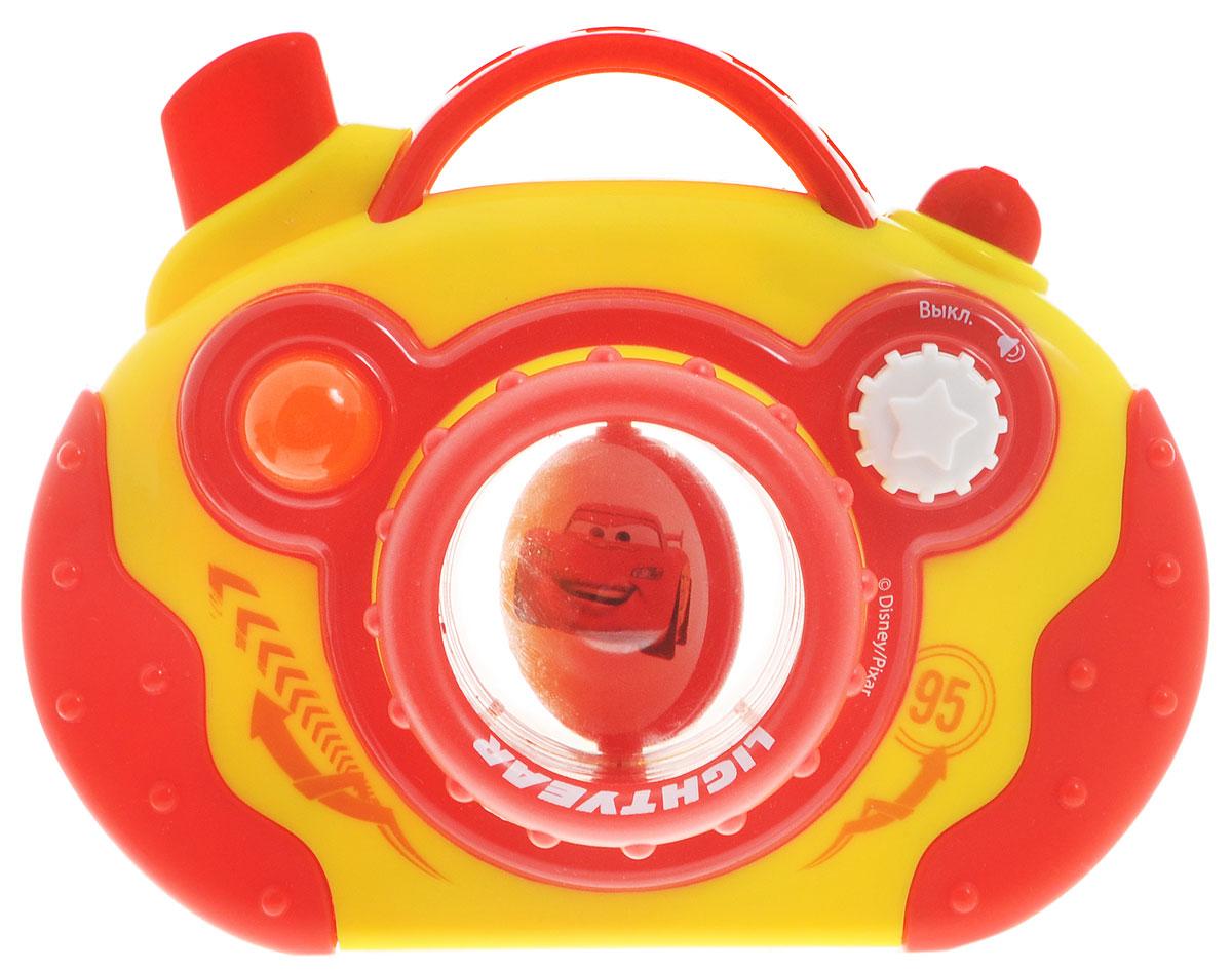 Умка Развивающая игрушка Фотоаппарат Тачки цвет красный желтый