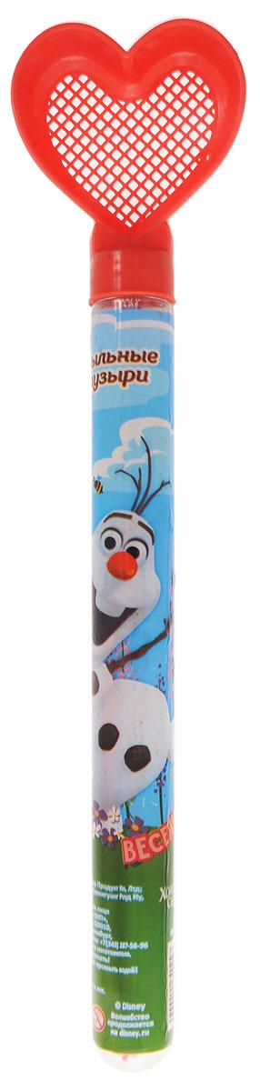 Disney Мыльные пузыри Веселись Холодное сердце цвет красный 65 мл1164024_красное ситоМыльные пузыри Disney Холодное сердце станут отличным развлечением на любой праздник! Все любят мыльные пузыри, ведь эти волшебные невесомые сферы парят в воздухе, разлетаются задорными стайками, переливаясь всеми цветами радуги, а потом лопаются и превращаются в весёлые брызги. Они всегда занимают почётное место на детских мероприятиях, да и сами способны создать маленький праздник. Корпус флакона с жидкостью украшен изображением героя детского мультфильма Холодное сердце, снеговика Олафа. Верхняя часть корпуса флакона выполнена в виде ситечка-сердечка, таким образом, игрушку можно использовать и в песочнице. Емкость флакона: 65 мл.