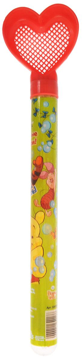 Disney Мыльные пузыри Давай играть Медвежонок Винни цвет красный 65 мл1164018_красное ситоМыльные пузыри Disney Давай играть. Медвежонок Винни станут отличным развлечением на любой праздник! Все любят мыльные пузыри, ведь эти волшебные невесомые сферы парят в воздухе, разлетаются задорными стайками, переливаясь всеми цветами радуги, а потом лопаются и превращаются в весёлые брызги. Они всегда занимают почётное место на детских мероприятиях, да и сами способны создать маленький праздник. Корпус флакона с жидкостью украшен изображением диснеевских героев мультсериала о Винни Пухе. Верхняя часть корпуса флакона выполнена в виде сердечка-ситечка, таким образом, игрушку можно использовать и в песочнице. Емкость флакона: 65 мл.