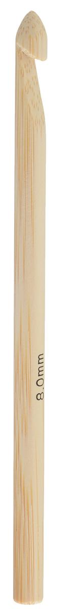 Крючок для вязания Addi, бамбуковый, диаметр 8 мм, длина 15 см545-7/8-15Крючок Addi выполнен из высококачественного бамбука и предназначен для вязания и плетения из ниток, ручного изготовления полотна. Поверхность крючка обрабатывается специальным, высокотехнологичным японским воском, который закрывает поры бамбука и делает поверхность абсолютно гладкой. Вязание крючком применяют как для изготовления одежды целиком, так и отделочных элементов одежды или украшений. Вы сможете вязать для себя и делать подарки друзьям. Рукоделие всегда считалось изысканным, благородным делом. Работа, сделанная своими руками, долго будет радовать вас и ваших близких. Подарок, выполненный собственноручно, станет самым ценным для друзей и знакомых.