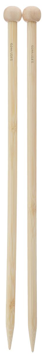 Спицы Addi, бамбуковые, прямые, диаметр 10 мм, длина 35 см, 2 шт500-7/10-035Спицы для вязания Addi изготовлены из бамбука. Поверхность спицы обрабатывается специальным, высокотехнологичным японским воском, который закрывает поры бамбука и делает поверхность абсолютно гладкой. Спицы прочные, легкие, гладкие, удобные в использовании. Ограничители препятствуют соскальзыванию петель. Прямые спицы используются при плоском вязании отдельных деталей, которые впоследствии будут сшиты в цельное изделие. Спицы Addi идеальны для людей с аллергией на металлы и их едва слышно при вязании. Вы сможете вязать для себя и делать подарки друзьям. Рукоделие всегда считалось изысканным, благородным делом. Работа, сделанная своими руками, долго будет радовать вас и ваших близких.