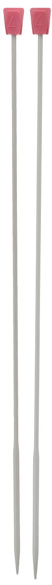 Спицы Addi, металлические, прямые с утолщением, диаметр 4 мм, длина 35 см, 2 шт210-7/4-35Спицы для вязания Addi, изготовленные из алюминия, незаменимы при вязании отдельных деталей. У спиц толстые наконечники и более тонкая по диаметру ручка, что позволяет ускорить процесс вязания и набрать больше петель. Гладкая поверхность спиц позволяет петлям легко скользить при вязании в прямом и обратном направлении. На кончиках в качестве стопперов есть пластиковый прямоугольник с нанесенным на него размером спиц. Прямые спицы используются при плоском вязании отдельных деталей, которые впоследствии будут сшиты в цельное изделие. Вы сможете вязать для себя и делать подарки друзьям. Рукоделие всегда считалось изысканным, благородным делом. Работа, сделанная своими руками, долго будет радовать вас и ваших близких.
