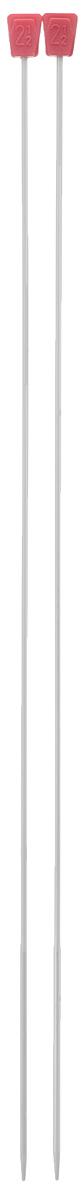Спицы Addi, металлические, прямые с утолщением, диаметр 2,5 мм, длина 35 см, 2 шт210-7/2.5-35Спицы для вязания Addi, изготовленные из алюминия, незаменимы при вязании отдельных деталей. У спиц толстые наконечники и более тонкая по диаметру ручка, что позволяет ускорить процесс вязания и набрать больше петель. Гладкая поверхность спиц позволяет петлям легко скользить при вязании в прямом и обратном направлении. На кончиках в качестве стопперов есть пластиковый прямоугольник с нанесенным на него размером спиц. Прямые спицы используются при плоском вязании отдельных деталей, которые впоследствии будут сшиты в цельное изделие. Вы сможете вязать для себя и делать подарки друзьям. Рукоделие всегда считалось изысканным, благородным делом. Работа, сделанная своими руками, долго будет радовать вас и ваших близких.