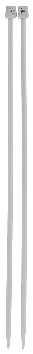 Спицы Pony, пластиковые, прямые, диаметр 6,5 мм, длина 40 см, 2 шт34264Спицы для вязания Pony, изготовленные из высококачественного пластика, обладают прекрасными тактильными качествами и благородным серебристо-матовым цветом. На кончиках в качестве стопперов есть пластиковые прямоугольники с нанесенным на них фирменным логотипом Pony. Прямые спицы используются при плоском вязании отдельных деталей, которые впоследствии будут сшиты в цельное изделие. Вы сможете вязать для себя и делать подарки друзьям. Рукоделие всегда считалось изысканным, благородным делом. Работа, сделанная своими руками, долго будет радовать вас и ваших близких.