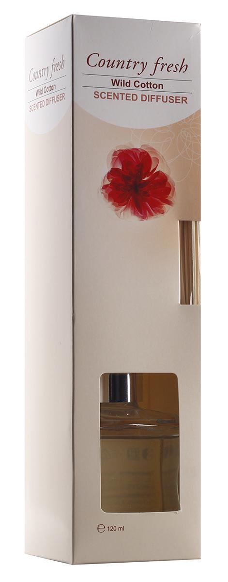 Ароматический диффузор Counrty Fresh Wild Cotton с ароматом дикого хлопка, 120 млRDF12004