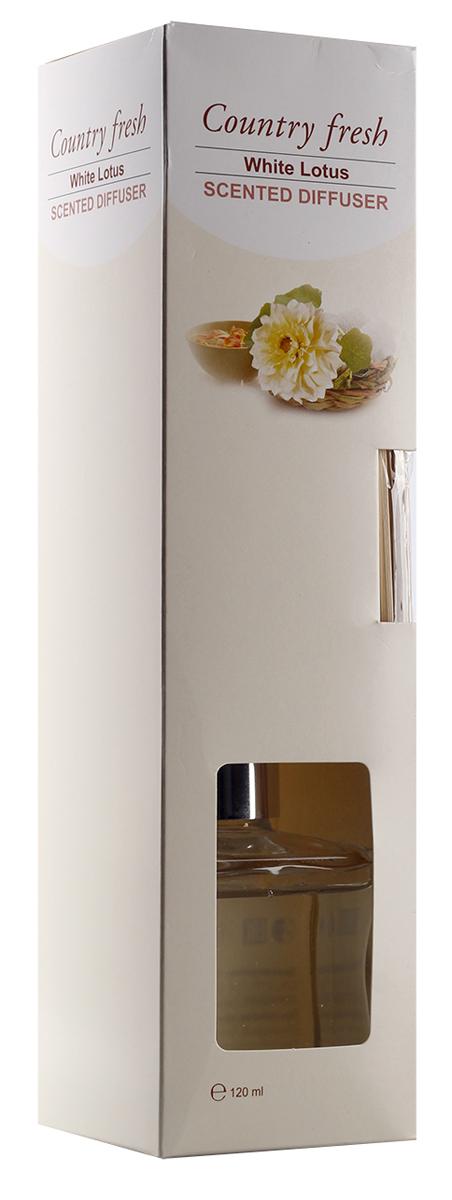 Ароматический диффузор Counrty Fresh White Lotus c ароматом белого лотоса, 120 млRDF12005