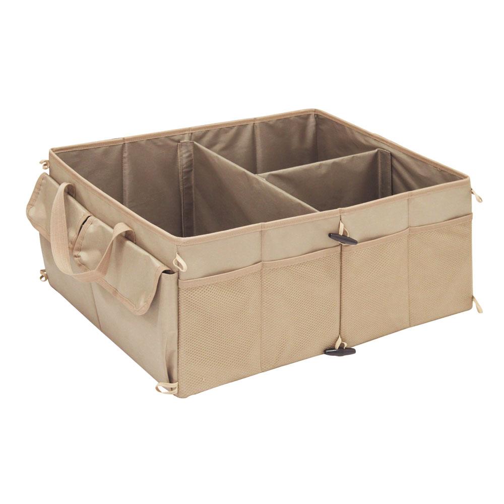 Автоорганайзер трехсекционный для хранения и перевозки