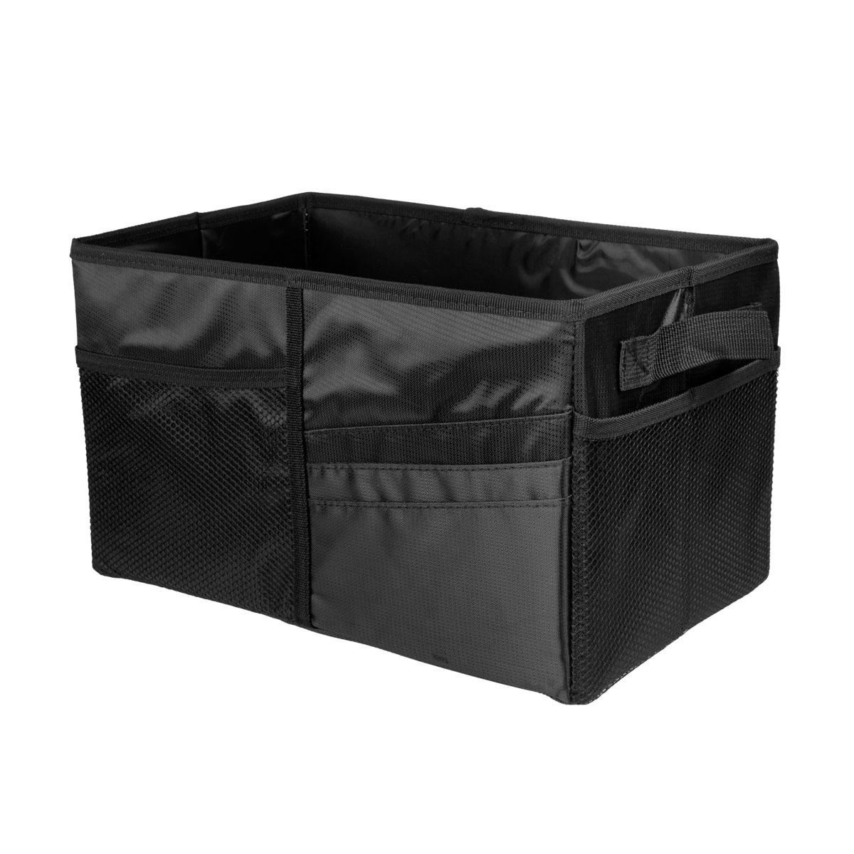 Автоорганайзер для хранения и перевозки Miolla, 35 х 20 х 20 см, цвет: черный