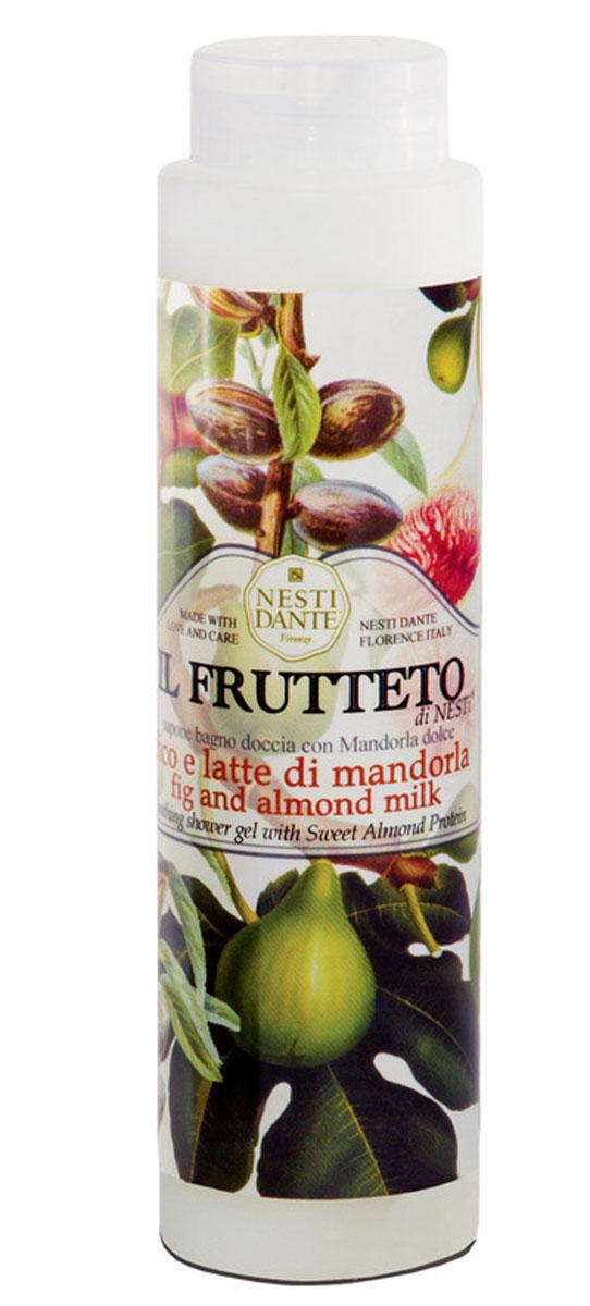 Nesti Dante гель для душа Fig & Almond Milk Инжир и миндальное молоко 300 мл5051106Великолепный гель для душа, созданный, из выращенных на солнце драгоценных плодов флорентийского сада. Увлажняет и успокаивает кожу. С ароматом миндаля и инжира