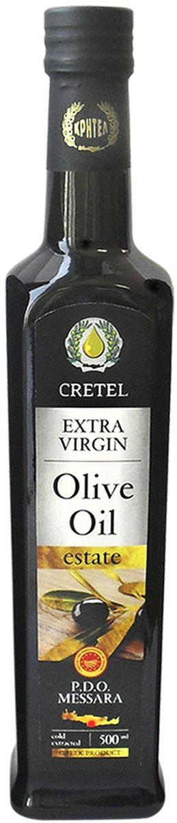 Cretel Extra Virgin масло оливковое P.D.O. Messara, 0,5 л (ст/б)