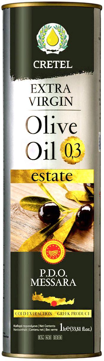 Cretel Extra Virgin масло оливковое P.D.O. Messara, 1 л