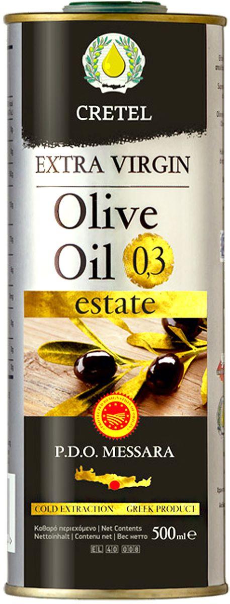 Cretel Extra Virgin масло оливкое P.D.O. Messara, 500 мл
