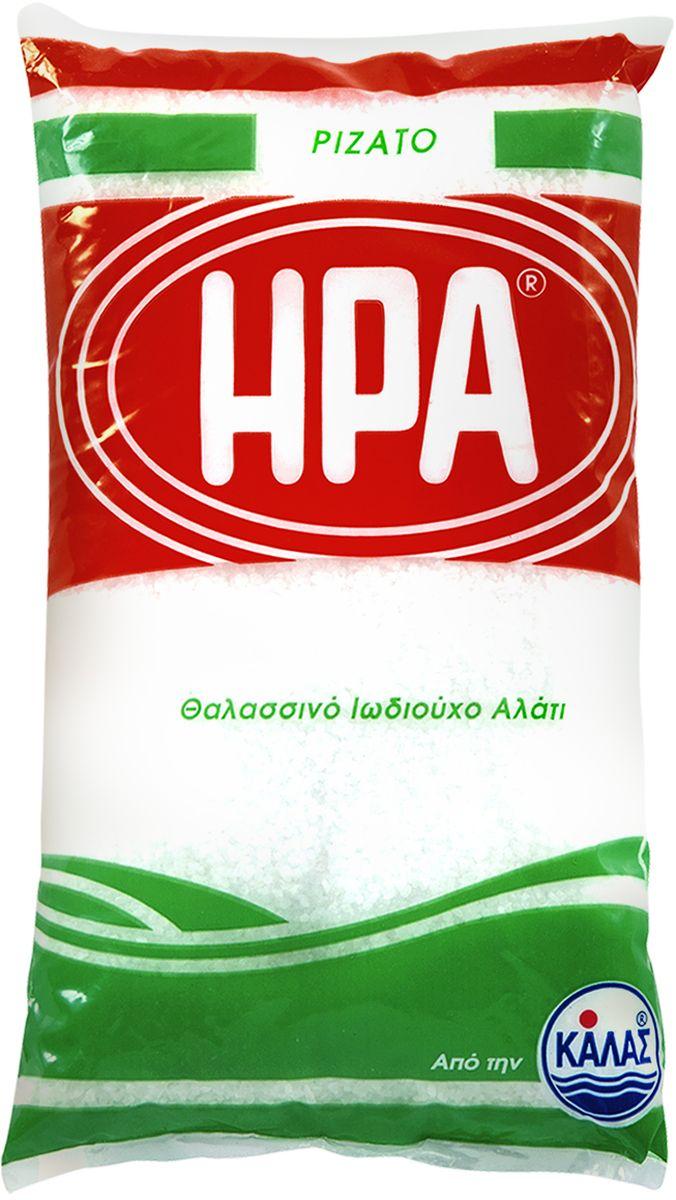 Kalas Hera соль морская крупная йодированная в пакете, 1 кг