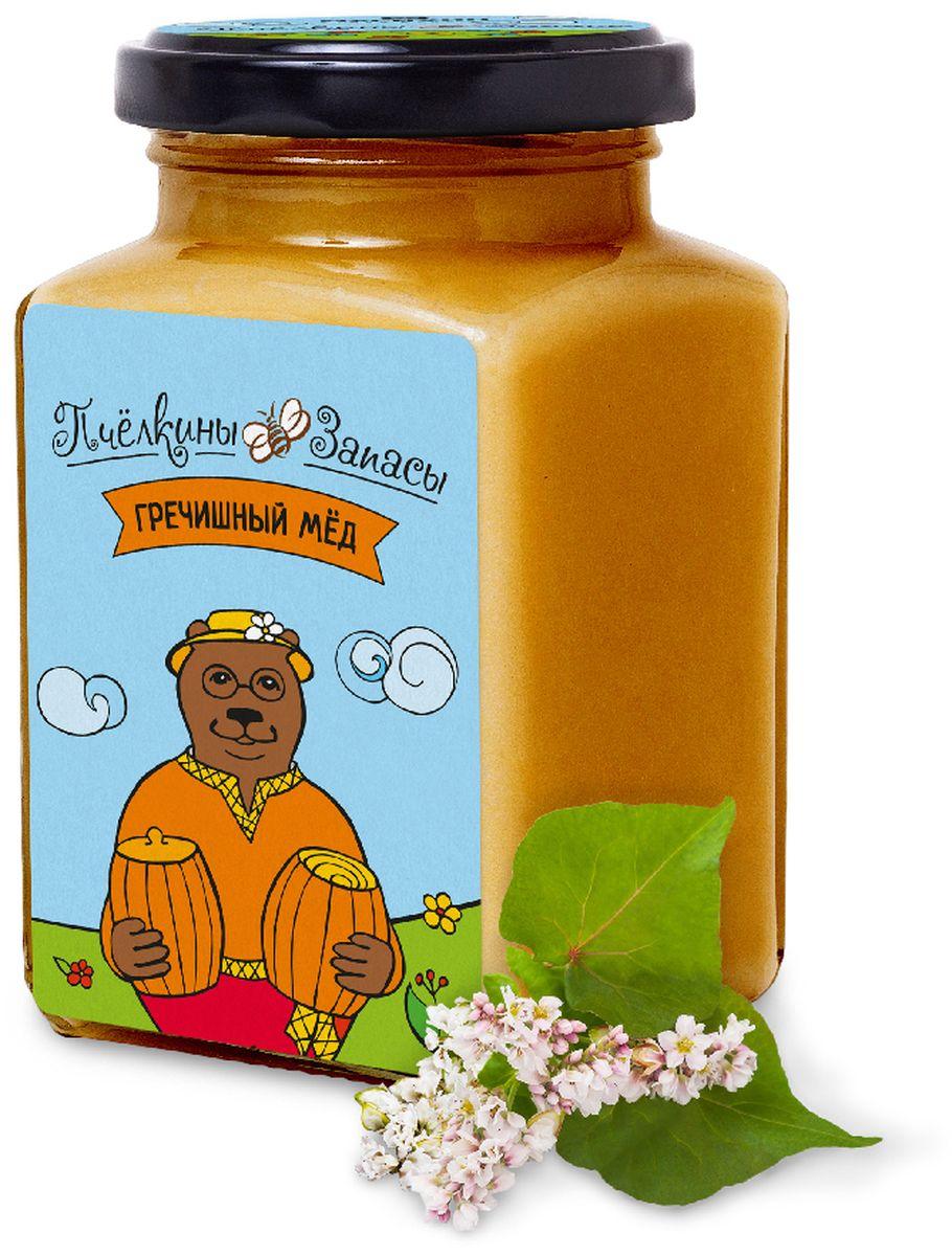 Пчелкины запасы гречишный мёд, 300 г5428Кто хотя бы раз попробовал гречишный мёд, никогда не забудет его вкус. Необычное сочетание сладости и терпкости делает его уникальным и легко узнаваемым. Густо-коричневый цвет – еще одно яркое отличие этого сорта. Но гречишный мёд не только красивый и вкусный, он еще и очень полезный. В его составе – повышенное количество железа, поэтому он способствует быстрому обновлению крови. Гречишный мёд – темный сорт мёда, который кристаллизуется довольно быстро. Но многие считают, что после этого вкус его трансформируется, становится еще более интересным.