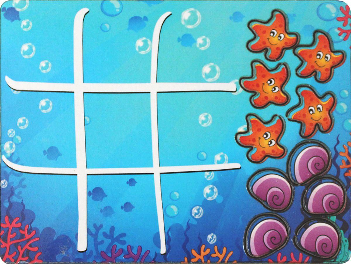 Фабрика Мастер игрушек Настольная игра Водный мирIG0034Доска для игры в Крестики-нолики Водный мир