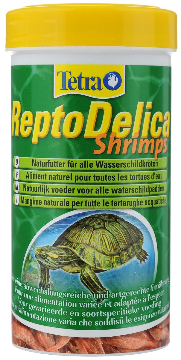 Корм для водных черепах Tetra Repto Delica Shrimps, креветки, 20 г169241Корм Tetra Repto Delica Shrimps - дополнительный корм- лакомство для плотоядных черепах. Здоровая природная еда для водных черепах. Цельные сублимированные креветки для удовольствия и разнообразного питания. Корм богат минералами для здорового развития костей и панциря. Repto Delica Shrimps идеально подходит как дополнительная добавка к корму Tetra ReptoMin. Вес: 20 г. Товар сертифицирован.