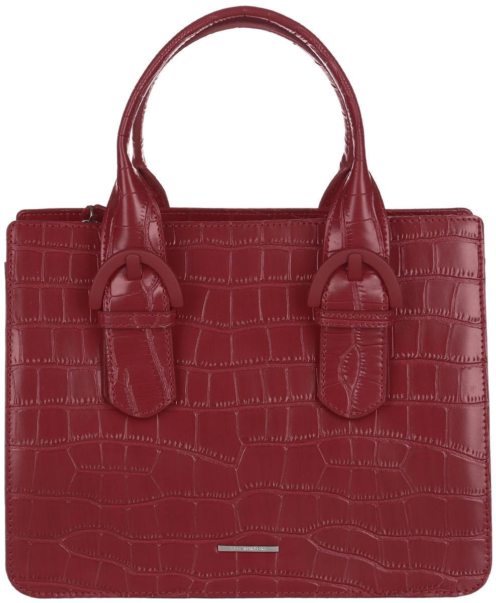 Сумка женская Leo Ventoni, цвет: бордовый. 2300441523004415-rosso coccoСтильная женская сумка Leo Ventoni выполнена из натуральной кожи с фактурным тиснением под кожу рептилии. Изделие содержит одно вместительное отделение, которое закрывается на застежку-молнию. Внутри расположены два накладных кармашка для мелочей и врезной карман на молнии. Снаружи, на задней стороне сумки, расположен врезной карман на застежке-молнии. Сумка оснащена двумя практичными ручками и съемным плечевым ремнем. Оригинальный аксессуар позволит вам завершить образ и быть неотразимой.
