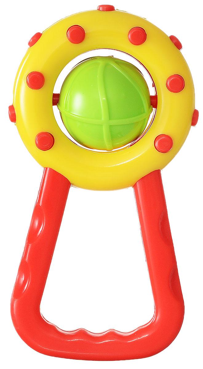 Canpol Babies Погремушка цвет желтый красный салатовый2/804_желтый, красный, салатовыйЯркая погремушка Canpol Babies не оставит вашего малыша равнодушным и не позволит ему скучать! Игрушка представляет собой кольцо с вращающимся салатовым шаром, внутри которого расположены маленькие шарики, выполняющие роль погремушки. Удобная форма ручки погремушки позволит малышу с легкостью взять и держать ее. Яркие цвета игрушки направлены на развитие мыслительной деятельности, цветовосприятия, тактильных ощущений и мелкой моторики рук ребенка, а элемент погремушки способствует развитию слуха.